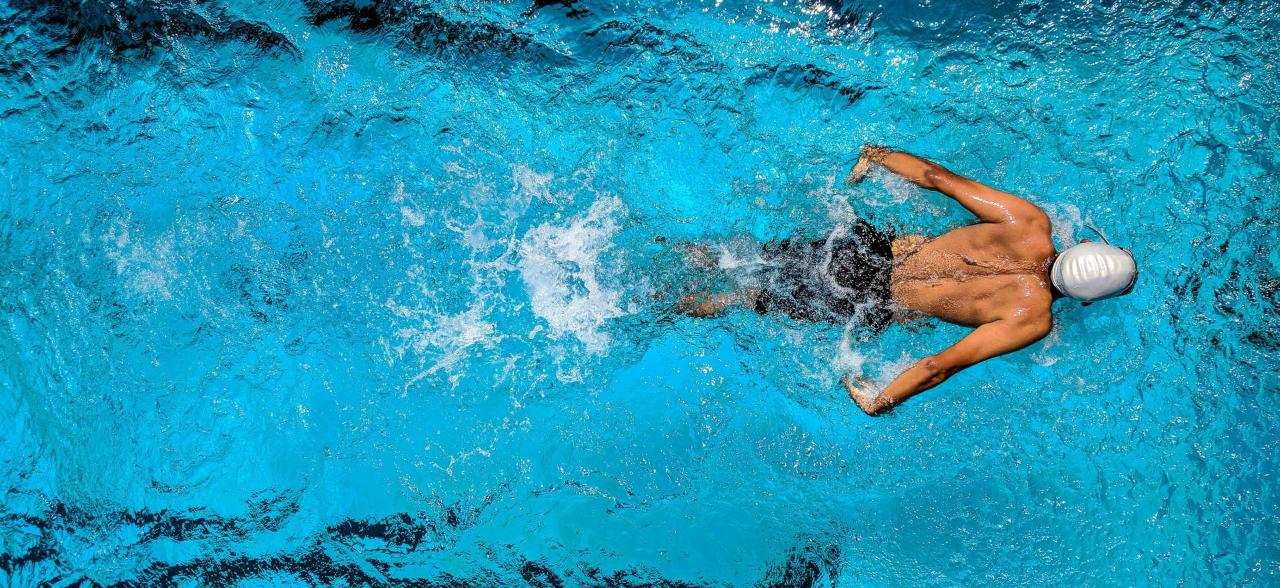 what fitness component is swimming